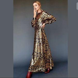 Antik Batik Free People Baugh Sequin Maxi Dress XS